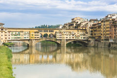 Ponte Veccio Bridge in Florence Stock Photos