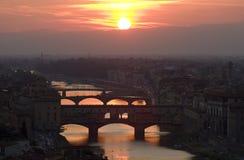 Ponte Vechio Fotos de archivo