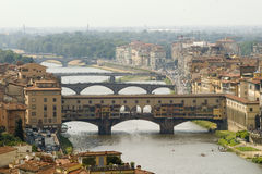 Ponte Vechio Stockfotos
