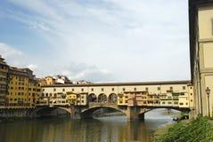 Ponte Vechio. Image of the classic Ponte Vechio bridge in Florence, Italy Stock Photos