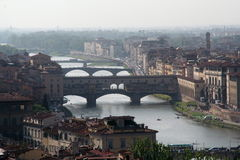 Ponte Vechio Royalty Free Stock Photography
