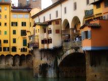 Ponte Vechio a Firenze Immagine Stock
