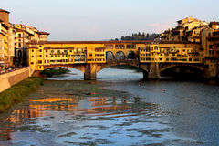 Ponte Vechio in Florence Stock Images