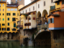 Ponte Vechio in Florence Stock Image