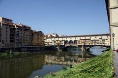 Ponte Vechio in Florenz Stockfoto