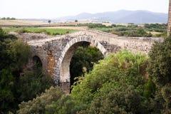 Ponte velha. Fotografia de Stock