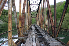 Ponte velha Imagens de Stock Royalty Free