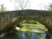 Ponte velha Fotografia de Stock Royalty Free
