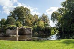 A ponte velha Foto de Stock