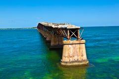 Ponte velha da estrada de ferro Fotografia de Stock Royalty Free