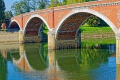 Ponte velha de Sisak Imagens de Stock Royalty Free