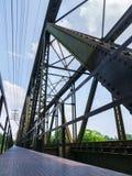 Ponte velha do trem Fotografia de Stock