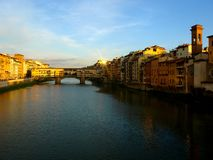 Ponte velha em Florença foto de stock royalty free