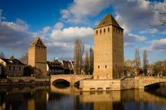Ponte velha em Strasbourg Fotos de Stock Royalty Free