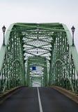 Ponte velha - estrada vazia sem tráfego Fotos de Stock