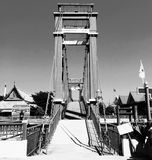 Ponte velha na cidade velha Foto de Stock