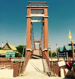 Ponte velha na cidade velha Foto de Stock Royalty Free