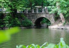Ponte veneziano nel parco Sofiyivka fotografia stock libera da diritti