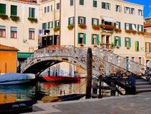 Ponte veneziano - Venezia, Itlay Immagini Stock
