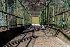 Ponte verde Fotografie Stock Libere da Diritti