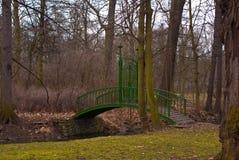 Ponte verde Immagini Stock