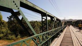 Ponte verde Immagini Stock Libere da Diritti