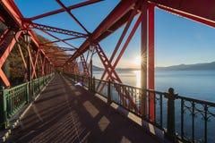 Ponte vermelha Imagens de Stock