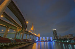 Ponte, via expressa, estrada, Fotos de Stock