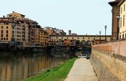 Ponte Vicchio, Florence, Italy Stock Image