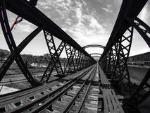 Ponte Victoria Perak de Malásia imagens de stock royalty free
