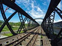 Ponte Victoria Perak della Malesia Fotografia Stock