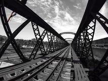 Ponte Victoria Perak della Malesia Immagini Stock Libere da Diritti