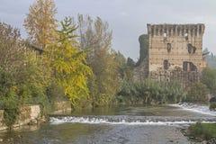 Ponte Visconteo 库存照片