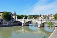 Ponte Vittorio Emanuele II Royalty Free Stock Image