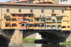 Ponte w Florencja Vecchio Zdjęcie Royalty Free