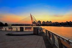 Ponte wawasan di Seri Fotografia Stock