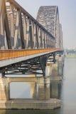 Ponte Yadanabon di Irrawaddy o ponte di Ayeyarwady fotografia stock