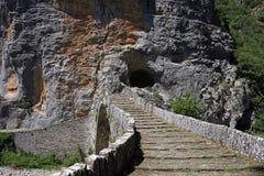 Ponte Zagoria dell'arco di Kokkori Immagini Stock