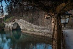 Pontecosi Lake, Lucca, Tuscany, Italy Royalty Free Stock Photography