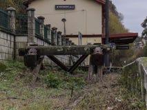 Pontedeume stacja kolejowa obraz royalty free