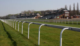 Pontefract Racecourse Grandstand Royalty Free Stock Photos
