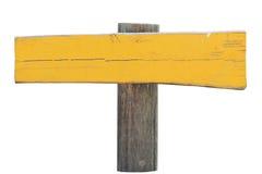 Ponteiro de madeira não marcado fotografia de stock royalty free