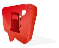 Ponteiro do gás Imagens de Stock Royalty Free