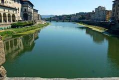Ponten Vecchio, FLORENCE Royaltyfri Foto