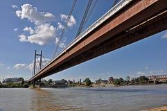 Pontes da cidade foto de stock