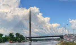 Pontes 12 de Belgrado Imagem de Stock Royalty Free