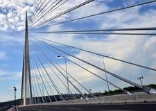Pontes 20 de Belgrado Fotografia de Stock
