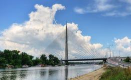 Pontes 24 de Belgrado Fotografia de Stock