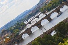 Pontes de Europa velha Fotografia de Stock Royalty Free
