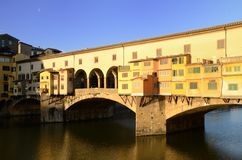 Pontevecchio (Florence). Florence is the jewel of the renessaince Stock Photos